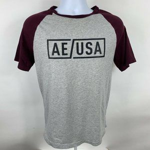American Eagle Graphic T-Shirt Men's Size Small Short Sleeve Crew Neck